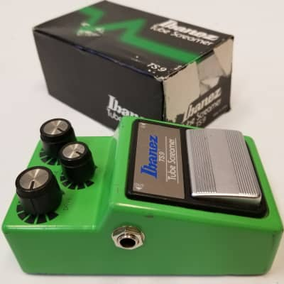 Ibanez Late 90's Vintage Reissue TS9 Tube Screamer Distortion Guitar Effect Pedal for sale