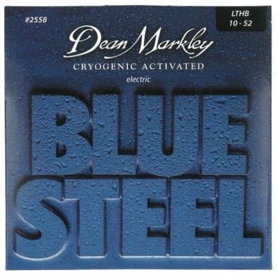 Dean Markley 25583PK Blue Light Top Heavy BTM, 10-52   3-Pack for sale