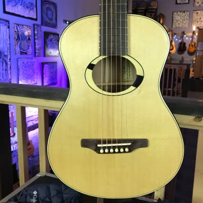 Laughlin RRL Ltd Edition PACIFIC DOGWOOD Very Small Body Parlor Guitar for sale