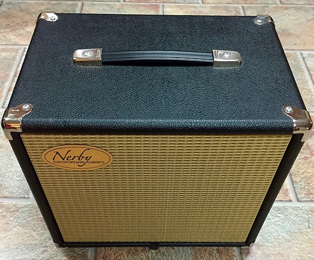 Nerby Custom 1x10 Guitar Speaker Cabinet 1x10 Black Celestion | Reverb