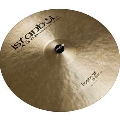 Istanbul 20 Inch Traditional Medium Ride Cymbal