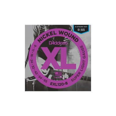 D´Addario EXL120-8 09-65 8 Strings Electric Set