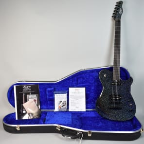 NEW 2018 Manson  MA-25 Anniversary Edition Night Sky Holosparkle Electric Guitar w/OHSC for sale