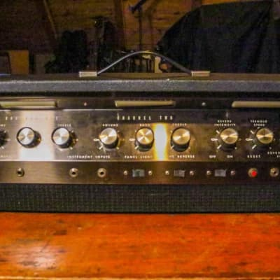 Valco Ward-Airline Amplifier National SUPRO Model GIM-9171 Circa 1970 Black Tolex 100 Watts for sale