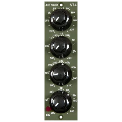 JDK Audio V14 500 Series 4-Band EQ Module