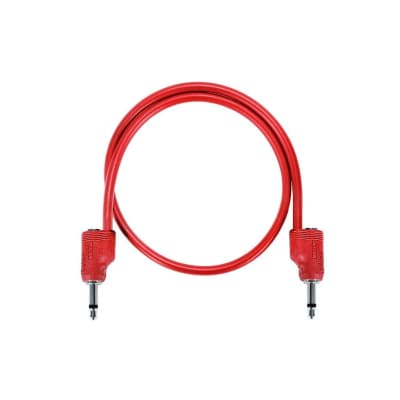 "Tiptop Audio Stackcable 30cm / 11.8"" Red"