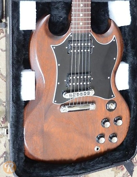Gibson SG Special Faded 2005 Worn Brown Price Guide | Reverb