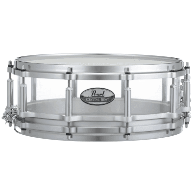"""Pearl CRB1450S Crystal Beat 14x5"""" Free-Floating Snare Drum"""