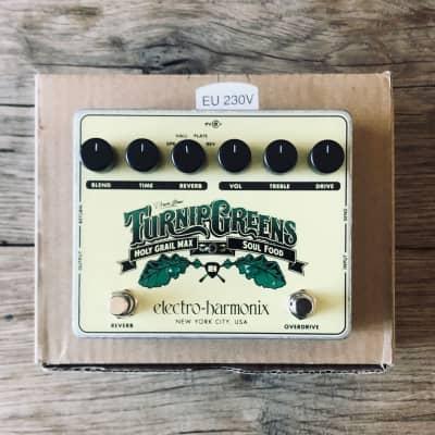 Electro-Harmonix Turnip Greens with Box & Goodies