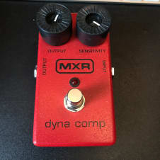 MXR Dyna Compressor 2014 Red