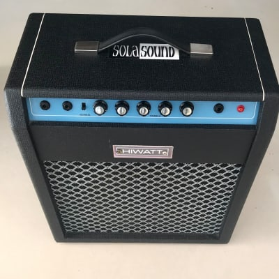 Hiwatt Solasound Combo 1969 Black/Blue for sale