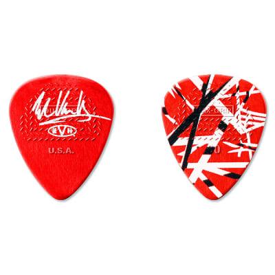 Dunlop EVHR02 Eddie Van Halen Frankenstein Max-Grip .60mm Guitar Picks (24-Pack)