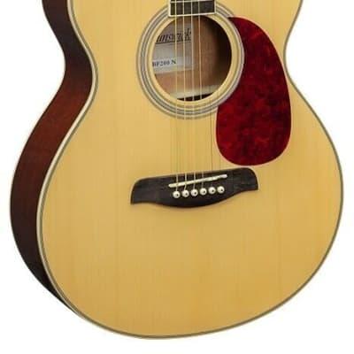 Brunswick Brunswick Natural Finish Grand Auditoruim Acoustic Guitar BF200 2021 Natural for sale
