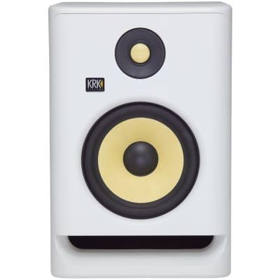 KRK RP7G4 Rokit 7 Generation 4 Powered Studio Monitor, White, Single Speaker