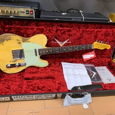 Fender telecaster custom shop heavy relic '63 blonde for sale
