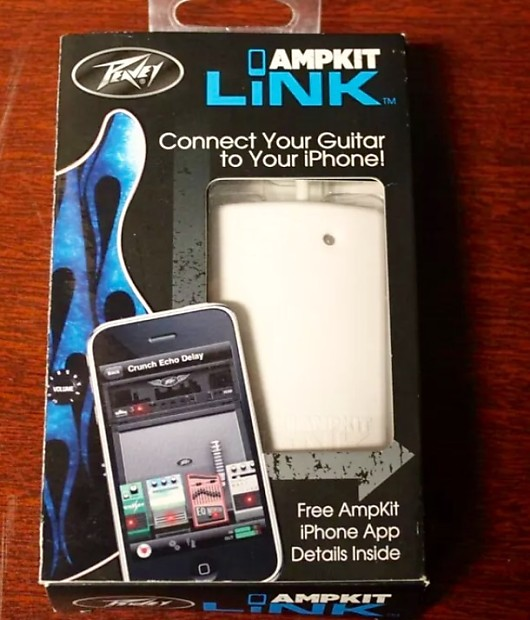 peavey ampkit link iphone ipad guitar interface free reverb. Black Bedroom Furniture Sets. Home Design Ideas
