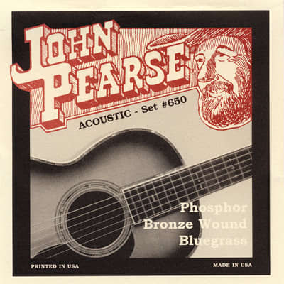 John Pearse Strings Bluegrass 12-56 Phosphor Bronze JP650LM