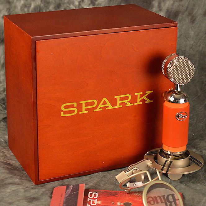 Red New JRR Shop Blue Microphones Spark SL Studio Condenser Mic