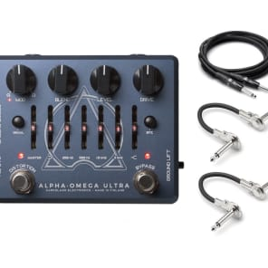 Darkglass Electronics Alpha Omega Ultra w/ Hosa Cables