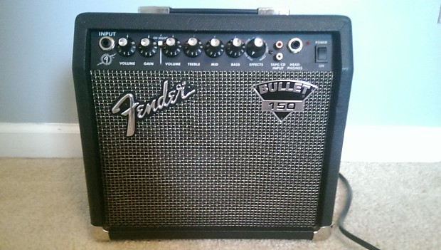 Fender Bullet 150 Combo Amp Built In Effects Reverb