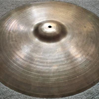 1950s Avedis Zildjian 22'' Ride Cymbal