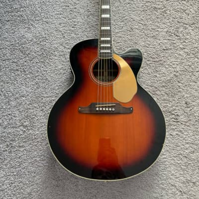 Fender Kingman SCE Jumbo California Series Sunburst Acoustic Electric Guitar