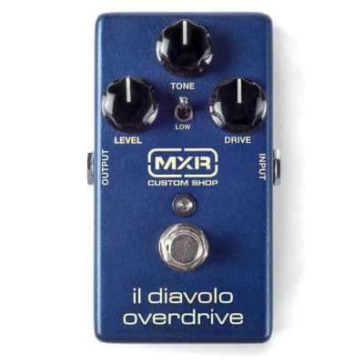 MXR MXR CSP036 Custom Shop Il Diavolo Overdrive Guitar Effects Pedal for sale