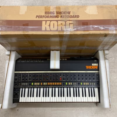 Boxed Korg Trident MK1, in excellent working condition, fully serviced ! MIDI possible