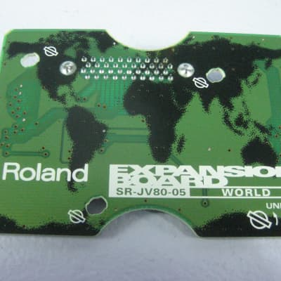 Roland SR-JV80-05 World Board (XP-50 XP-60 JV-1080) XP JV