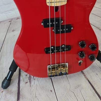 Antares (MIJ) PJ Bass 80's Dakota Red Finish Made In Japan for sale