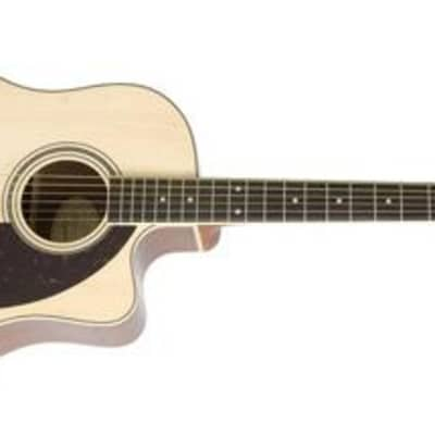 Epiphone AJ-220SCE Advanced Jumbo Acoustic-Electric Guitar (Used/Mint) for sale