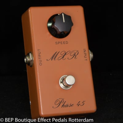 "MXR Phase 45 Script Logo 1975 s/n 508246 made in USA as used by the Sex Pistols ""Anarchy in the UK"""