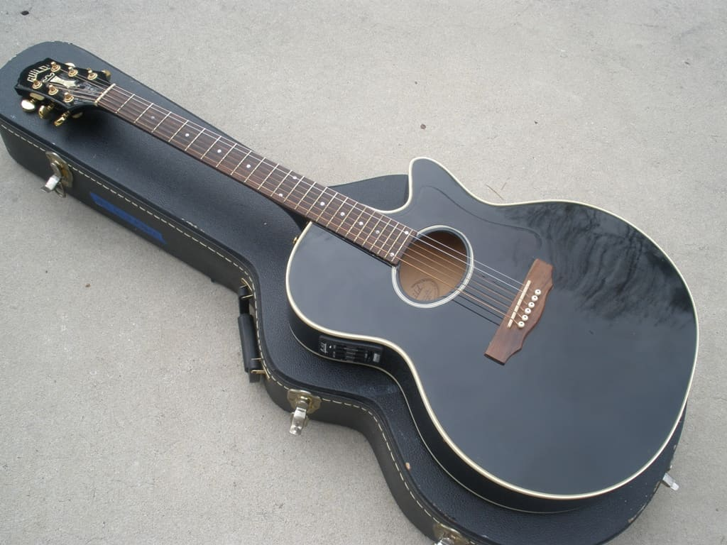 1992 guild f30ce or f45ce acoustic electric guitar rare reverb. Black Bedroom Furniture Sets. Home Design Ideas