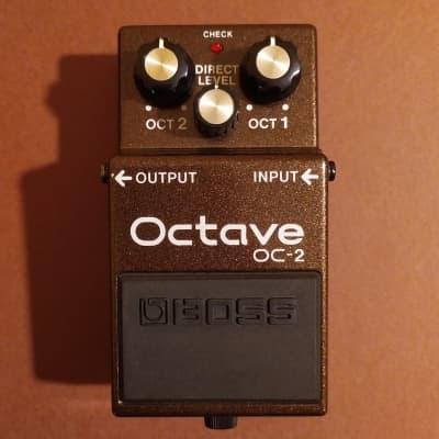 Boss OC-2 Octave ACA w/box & manual