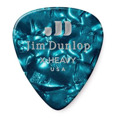 Dunlop 483R11XH Celluloid Extra Heavy Guitar Picks (72-Pack)