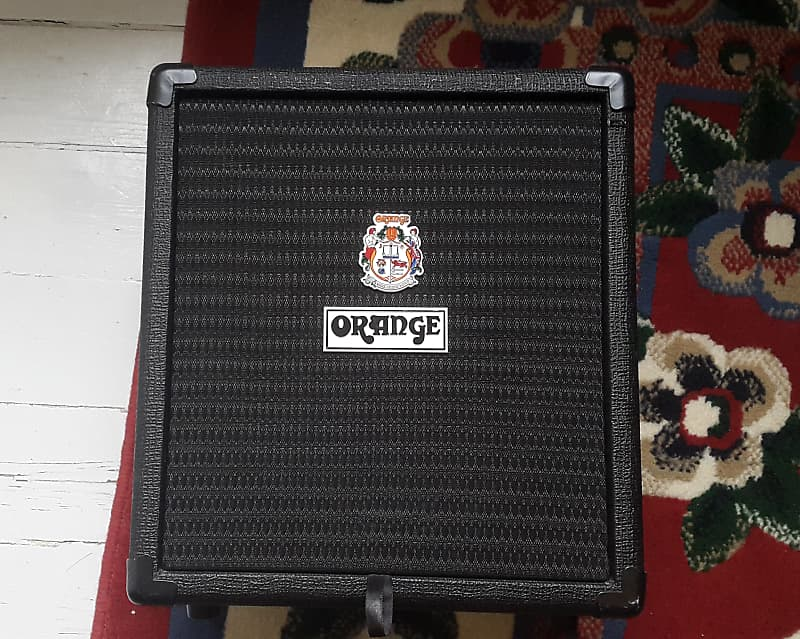 orange crush bass 25w 1x8 bass combo 2010s black reverb. Black Bedroom Furniture Sets. Home Design Ideas