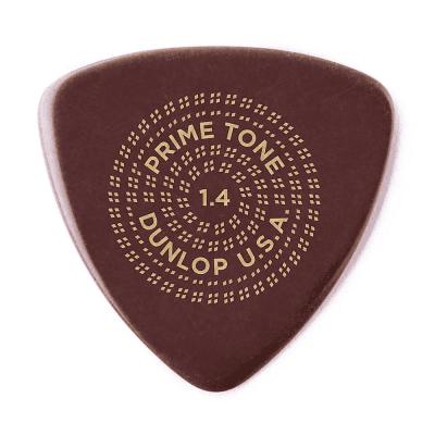 Dunlop 513P14 Primetone Tri Smooth 1.4mm Triangle Guitar Picks (3-Pack)
