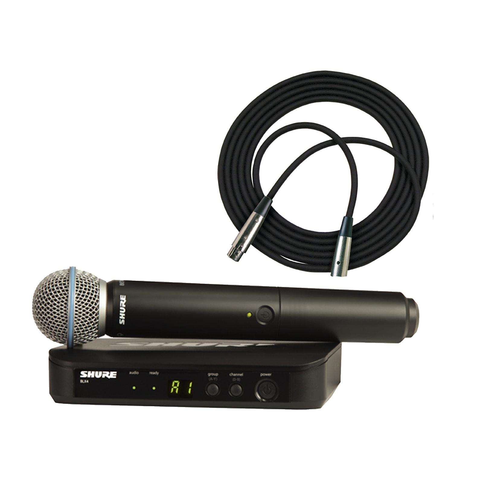Shure BLX24/B58 Handheld Wireless System w/ Beta58 (H10 Freq.)
