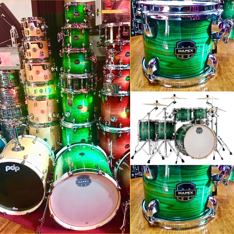 Mapex Armory 7-Piece Drums (Emerald Burst) | ABR-MusicVideo