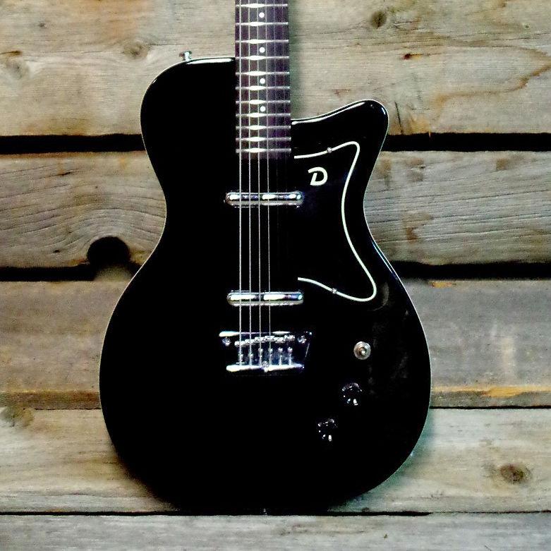 Danelectro 56 Reissue Baritone Guitar Black | Reverb