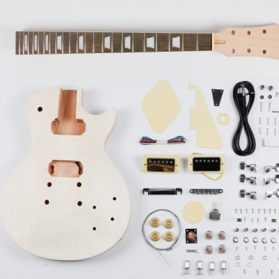 Leo Jaymz DIY LP Style Electric Guitar Kit - Guarantee delivery within 3-5 days - Free Shipping