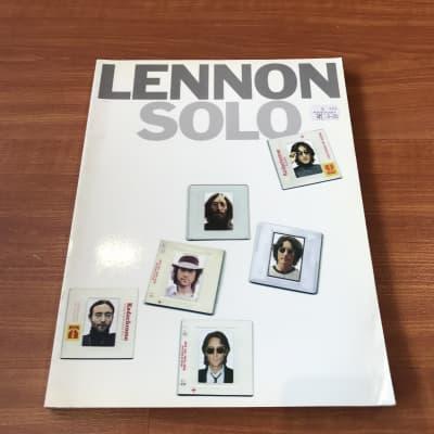 Lennon Solo Music Book