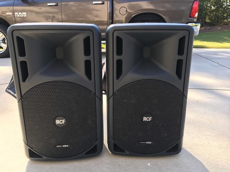 RCF ART 522A Black (Pair) | Greg's Shop | Reverb