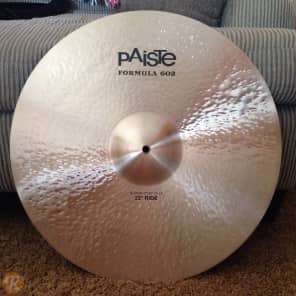 "Paiste 22"" Formula 602 Modern Essentials Ride Cymbal Traditional"