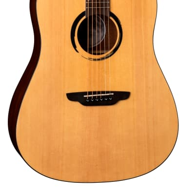 Luna WABI D WABI SABI Dreadnought Solid-Top Acoustic Guitar for sale