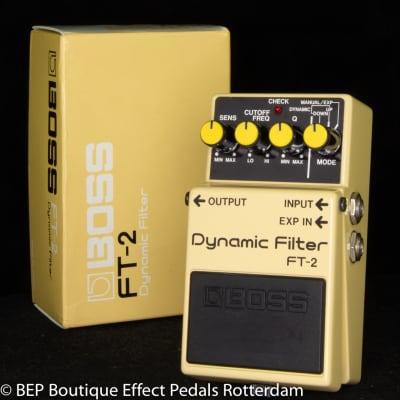 Boss FT-2 Dynamic Filter 1986 s/n 719100 Japan