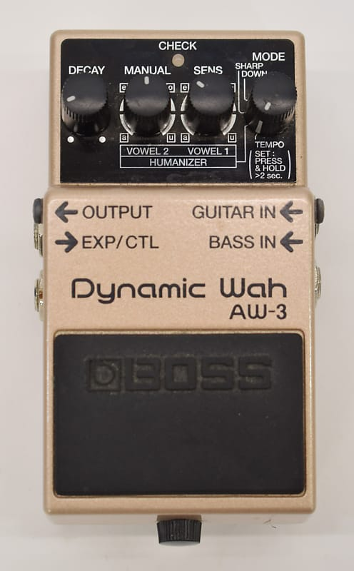 boss aw 3 dynamic wah effects pedal previously owned reverb. Black Bedroom Furniture Sets. Home Design Ideas