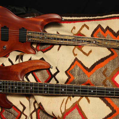 2006 Curbow Petite Guitar and M4 Bass