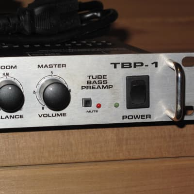 Fender TBP-1 Tube Bass Preamp Made in USA - with Footswitch