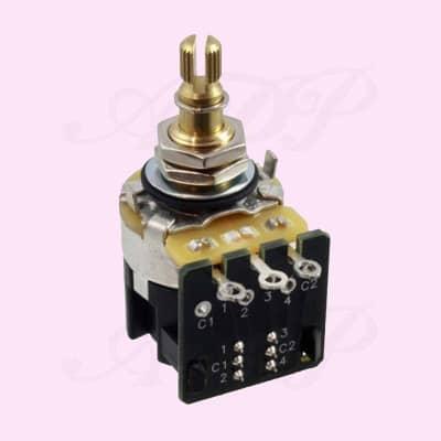 Push Pull CTS 500K Audio Taper Potentiometer DPDT EP5586